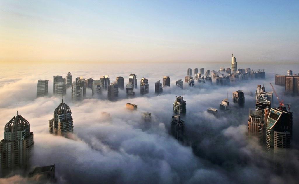 Hinh anh cho thay Dubai xung danh 'Manhattan vung Trung Dong' hinh anh 1
