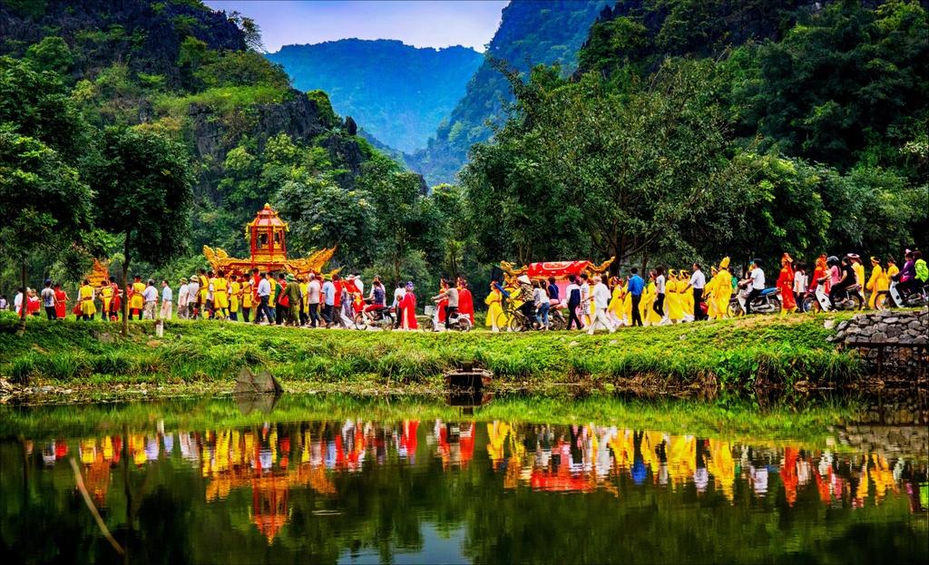 Non nuoc Ninh Binh dam chat 'Dau an Viet Nam' hinh anh 11