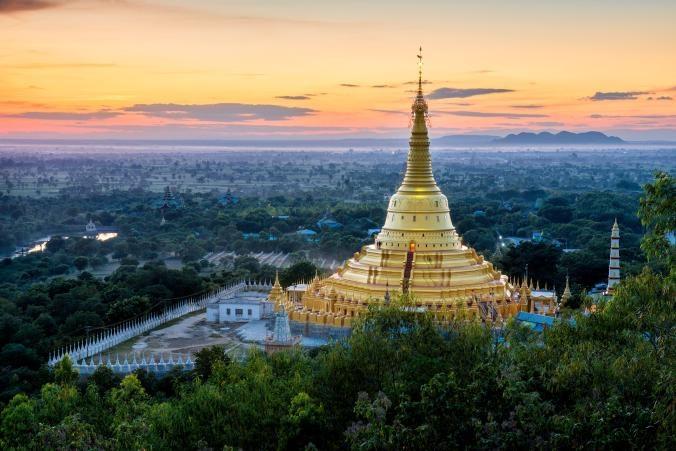 Nhung ngoi chua linh thieng cua Myanmar hinh anh 1