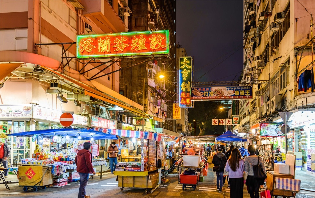 Tham 10 khu cho duong pho noi tieng o Hong Kong anh 1