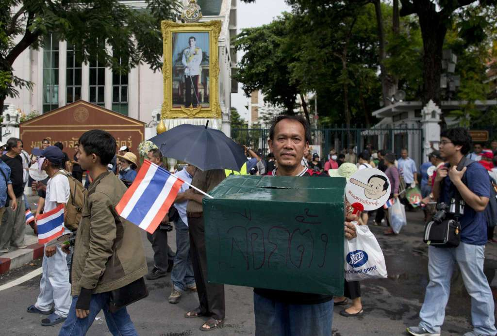 Thai Lan dieu dong gan 3.000 canh sat doi pho bieu tinh hinh anh 2