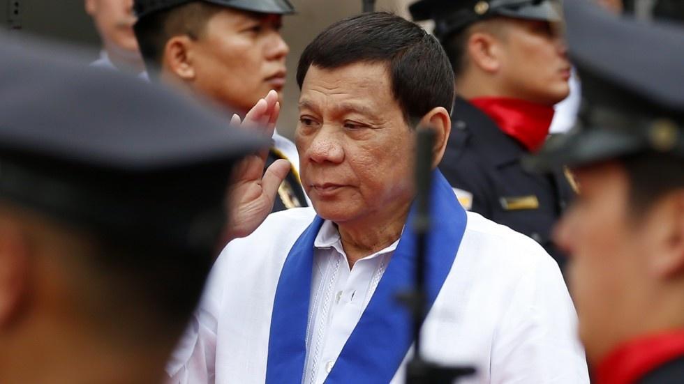 Tong thong Duterte het bat can, tim huong can bang Trung - My hinh anh 2