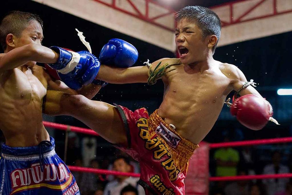 Dau si nhi Thai Lan: Thuong dai tu 8 tuoi, uoc mo doi doi hinh anh 10