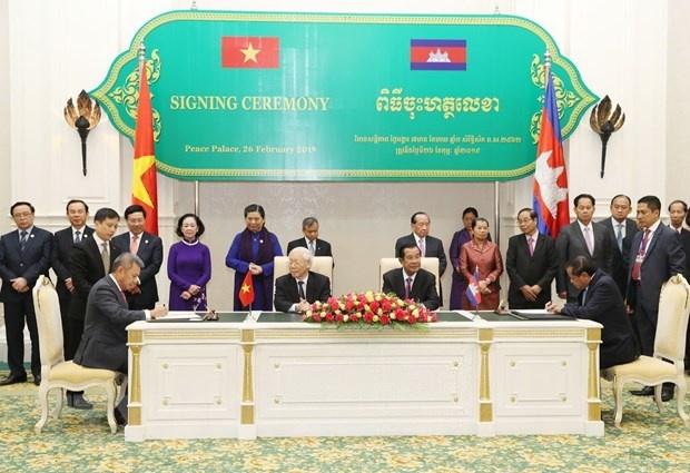 Tong bi thu, Chu tich nuoc hoi kien Thu tuong Campuchia Hun Sen hinh anh 2