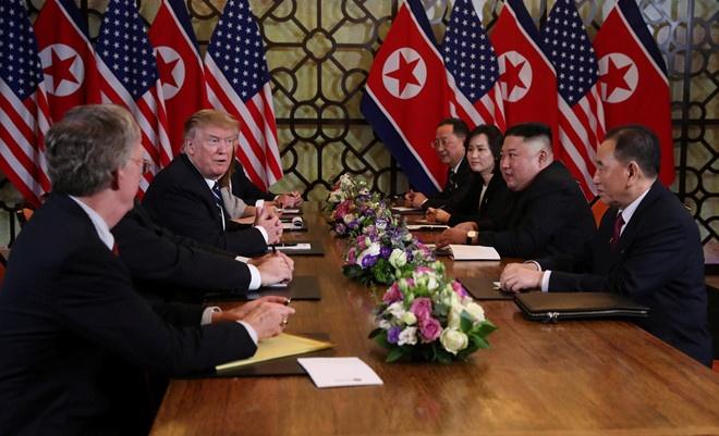 Trump Kim jong Un Viet nam anh 2
