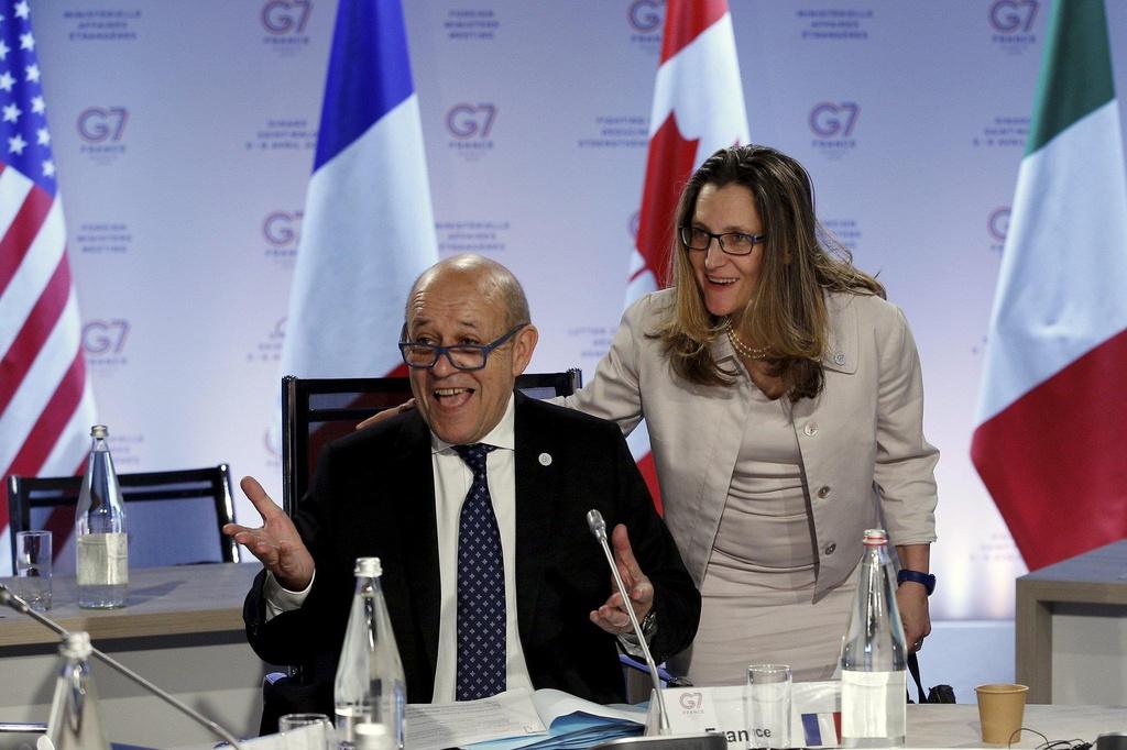 Vang ngoai truong My, G7 ket thuc hoi nghi khong tranh cai hinh anh 7