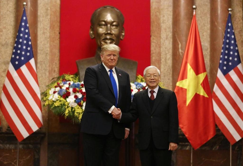 Tong thong Trump gui dien mung quoc khanh Viet Nam hinh anh 2