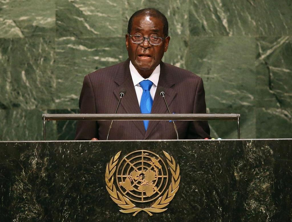 cuu tong thong Robert Mugabe anh 1
