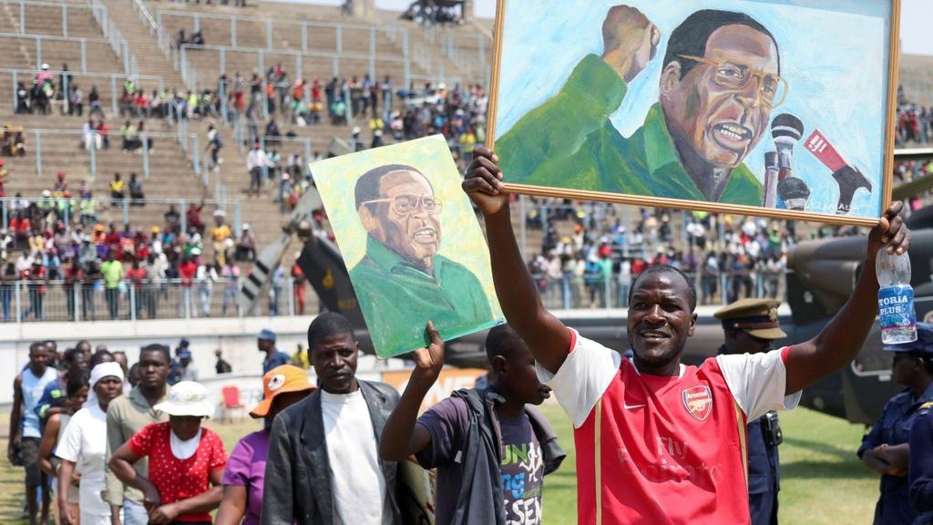 'Sóng ngầm' và mâu thuẫn trong đám tang Zimbabwe dành cho cố TT Mugabe