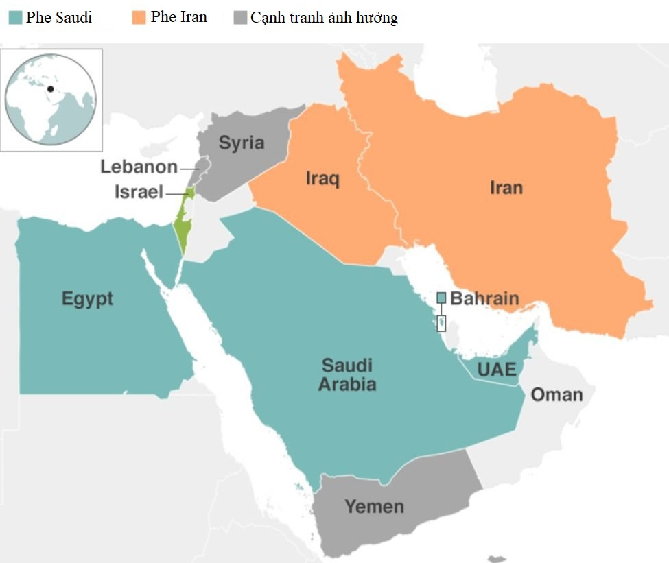 Iran doi dau Saudi Arabia anh 2