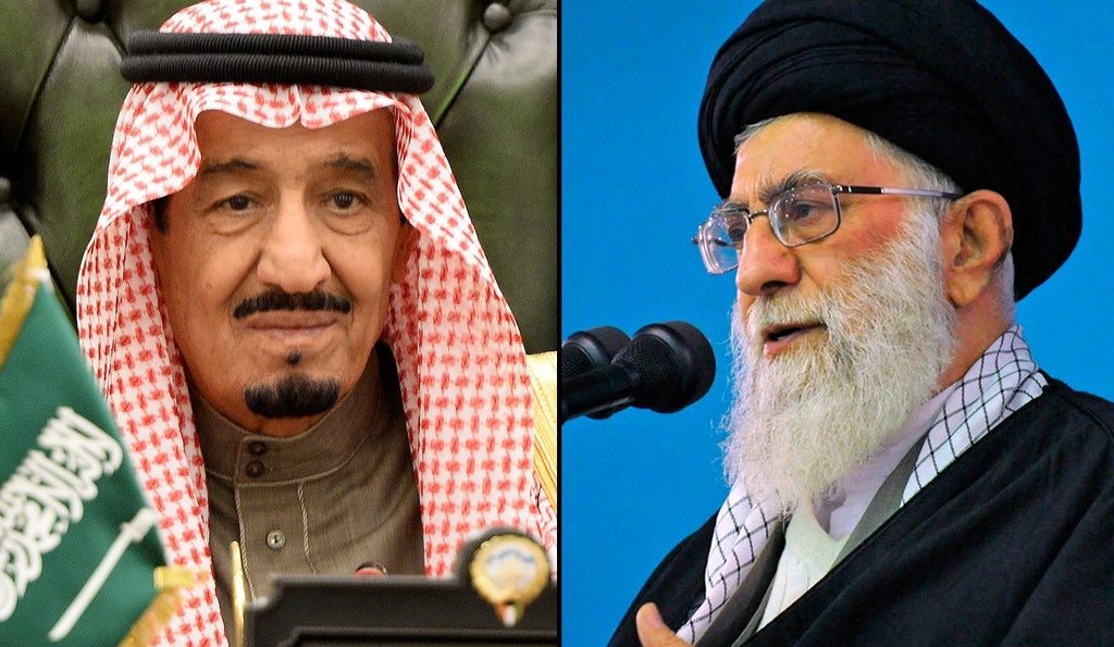 Iran doi dau Saudi Arabia anh 1