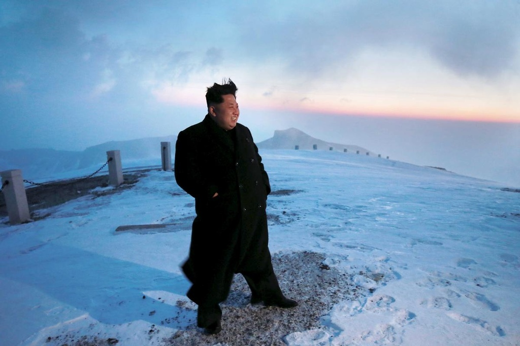 Ong Kim Jong Un cuoi bach ma anh 3