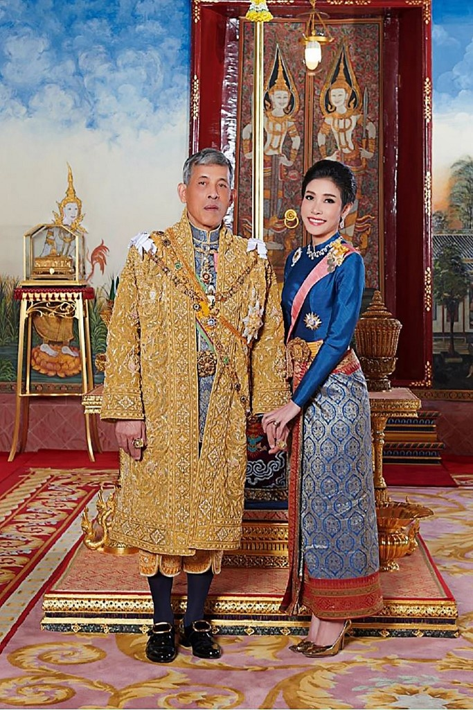 Cuoc canh tranh giua hoang hau va hoang quy phi ben canh nha vua Thai hinh anh 3