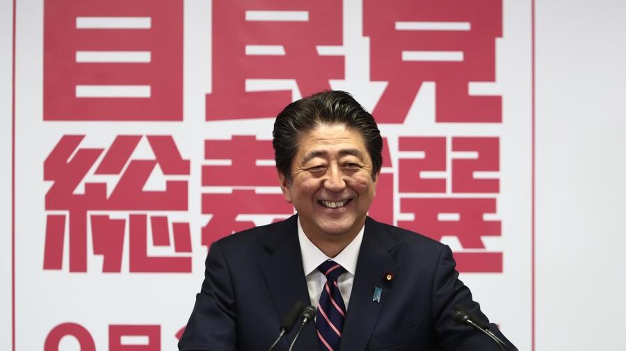 Thu tuong Shinzo Abe anh 1
