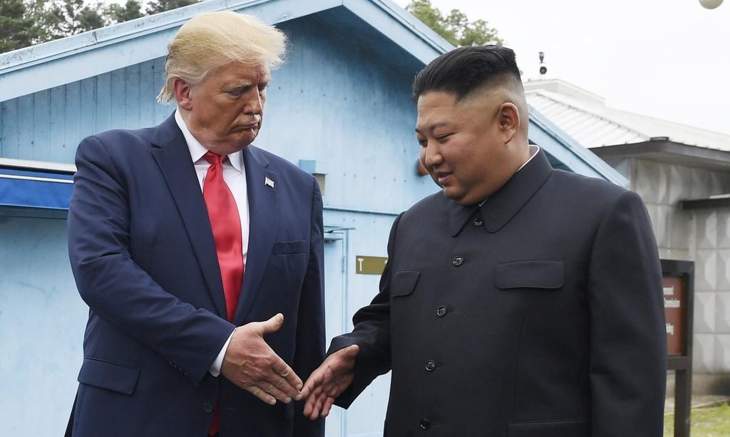 Dam phan hat nhan be tac, 'chuyen tinh' Trump - Kim da den hoi ket? hinh anh 2 Trump_Kim_1.jpg