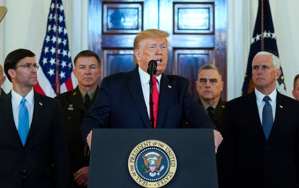 Kenh ngoai giao bi mat va cuoc dua thao ngoi no chien tranh My - Iran hinh anh 5 Trump.jpg