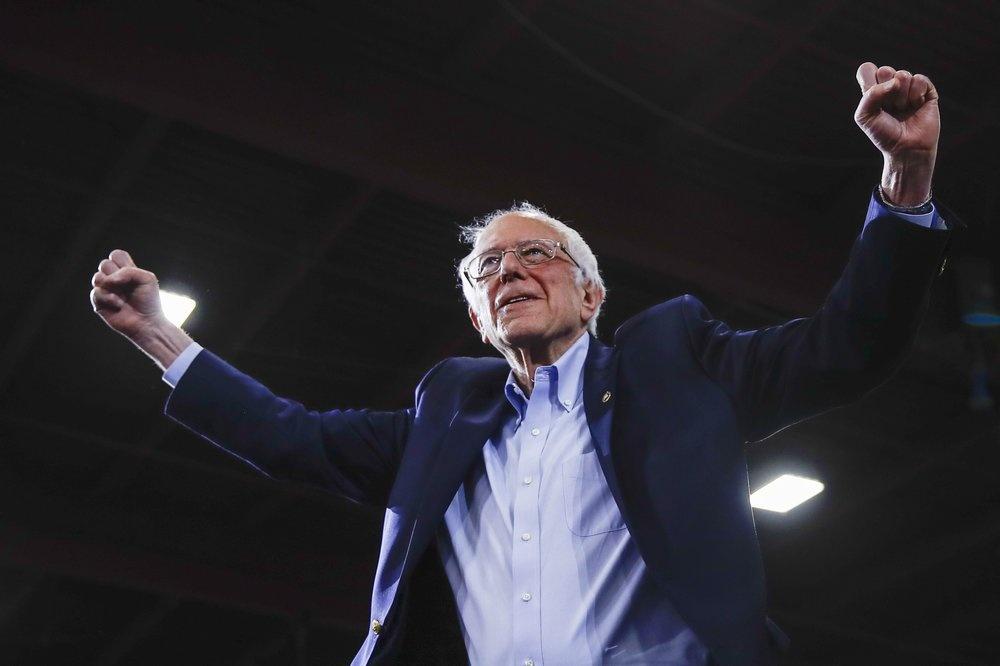 Joe Biden loi nguoc dong, 'Sieu Thu Ba' thay doi cuc dien bau cu so bo hinh anh 2 Bernie_Sanders.jpeg
