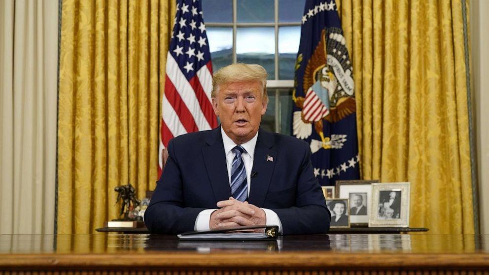 TT Trump dot ngot ra lenh cam, thi truong chau Au khong kip tro tay hinh anh 1 Trump_1.jpg