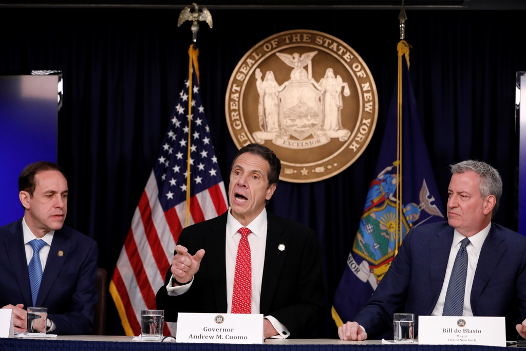 诚实的15,000例,纽约在4 Cuomo.JPG的新三角形中