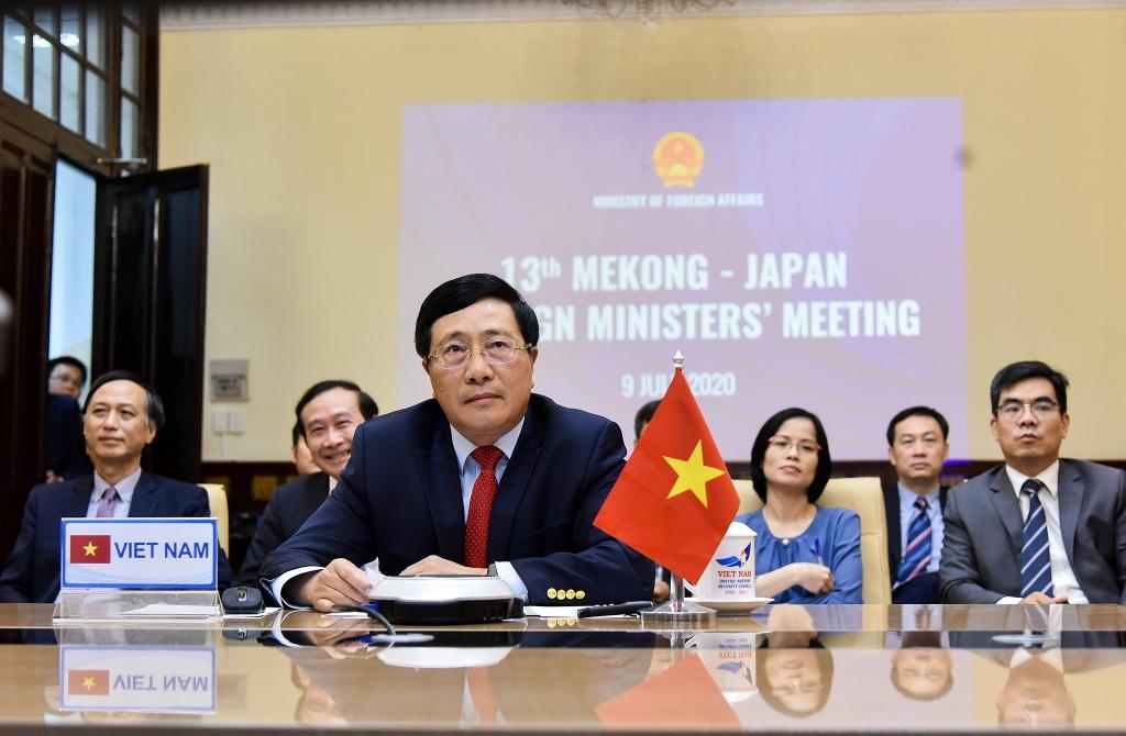Hoi nghi Bo truong Mekong - Nhat Ban anh 1