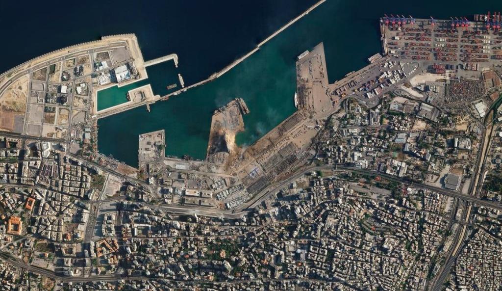 Vu no rung chuyen Beirut anh 4