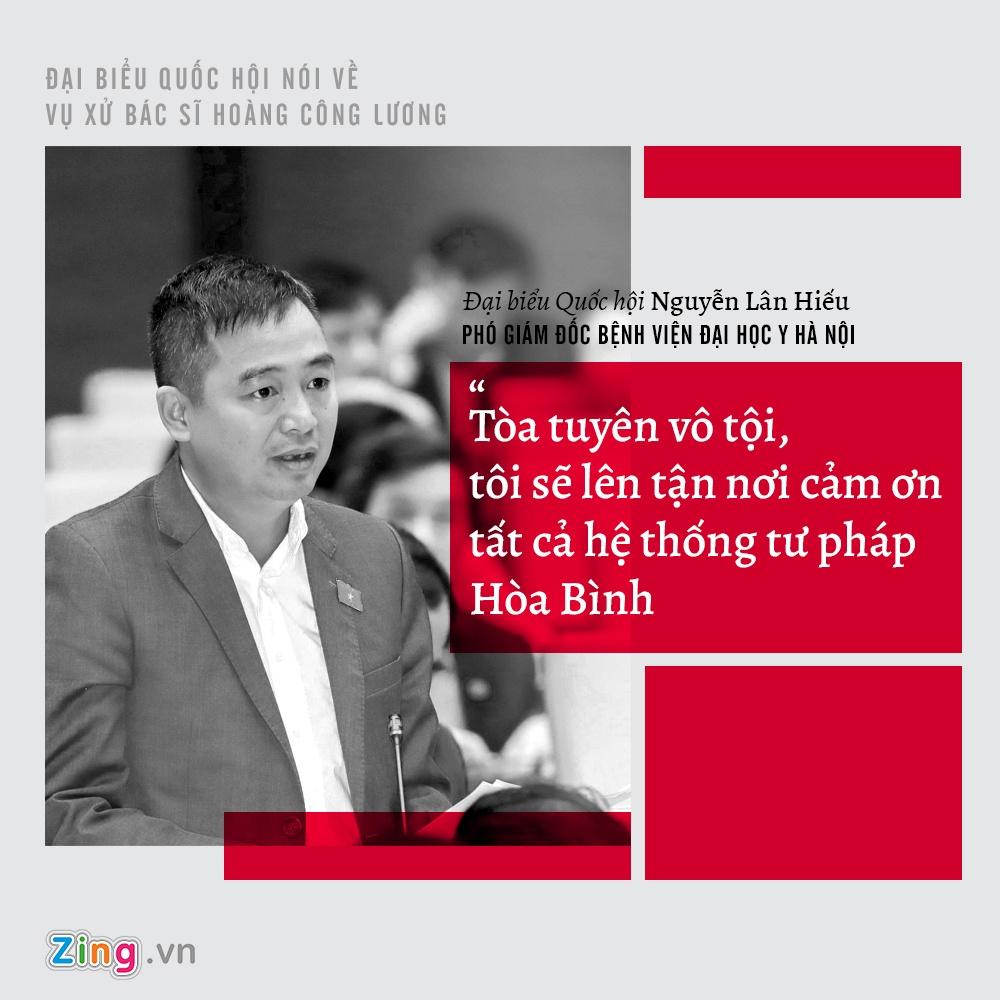 Nhung y kien trai chieu cua dai bieu Quoc hoi khi xu Hoang Cong Luong hinh anh 9