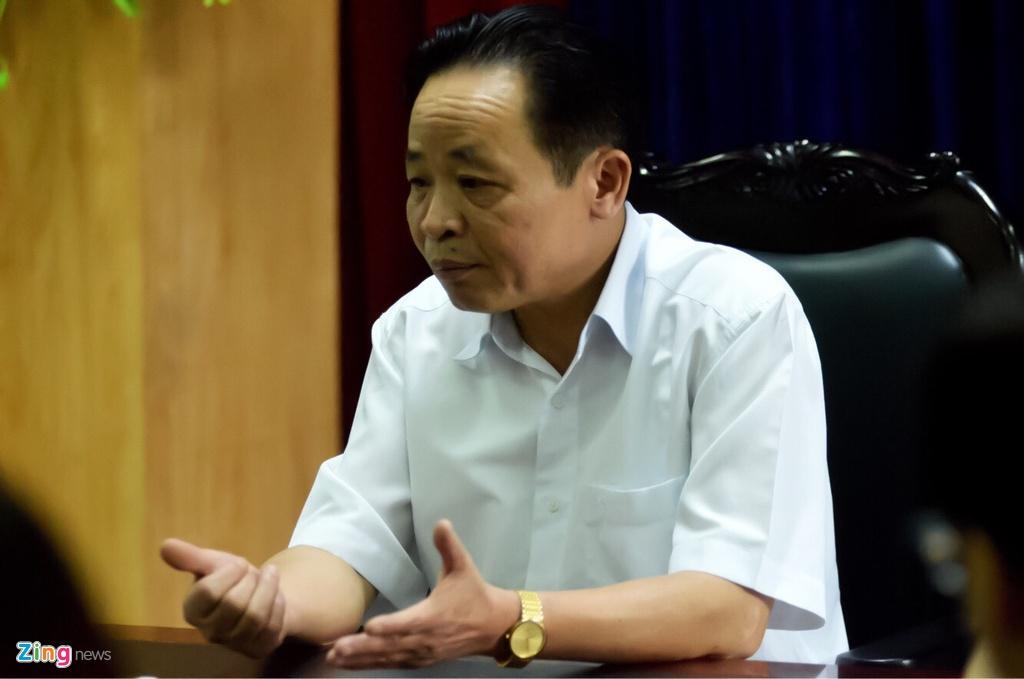 Giam doc So GD&DT Ha Giang: 'Tieu cuc, toi tuyet nhien khong' hinh anh 1