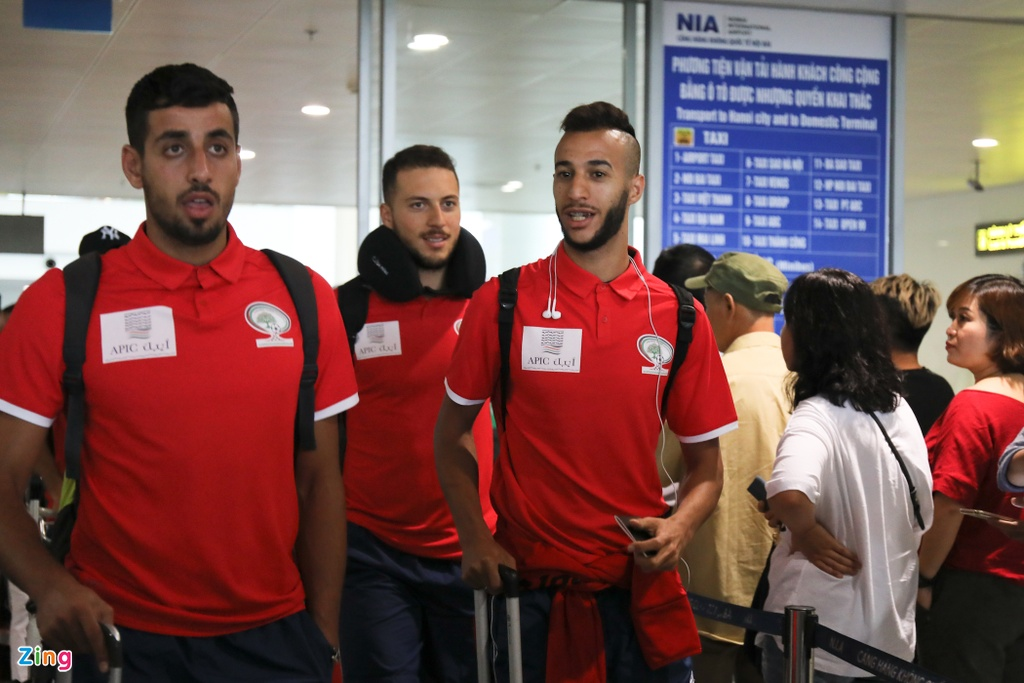U23 Palestine co mat o Viet Nam voi luc luong manh nhat hinh anh 2