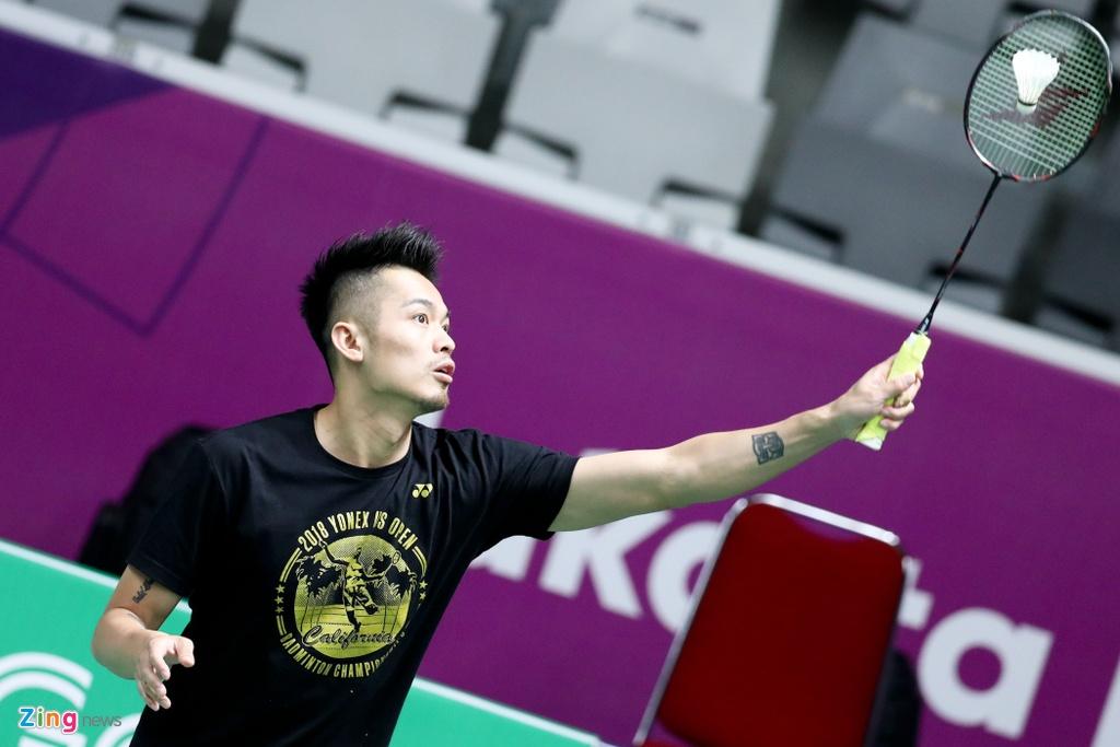 Fan nu Indonesia phat cuong vi Lin Dan, Chen Long o ASIAD hinh anh 1