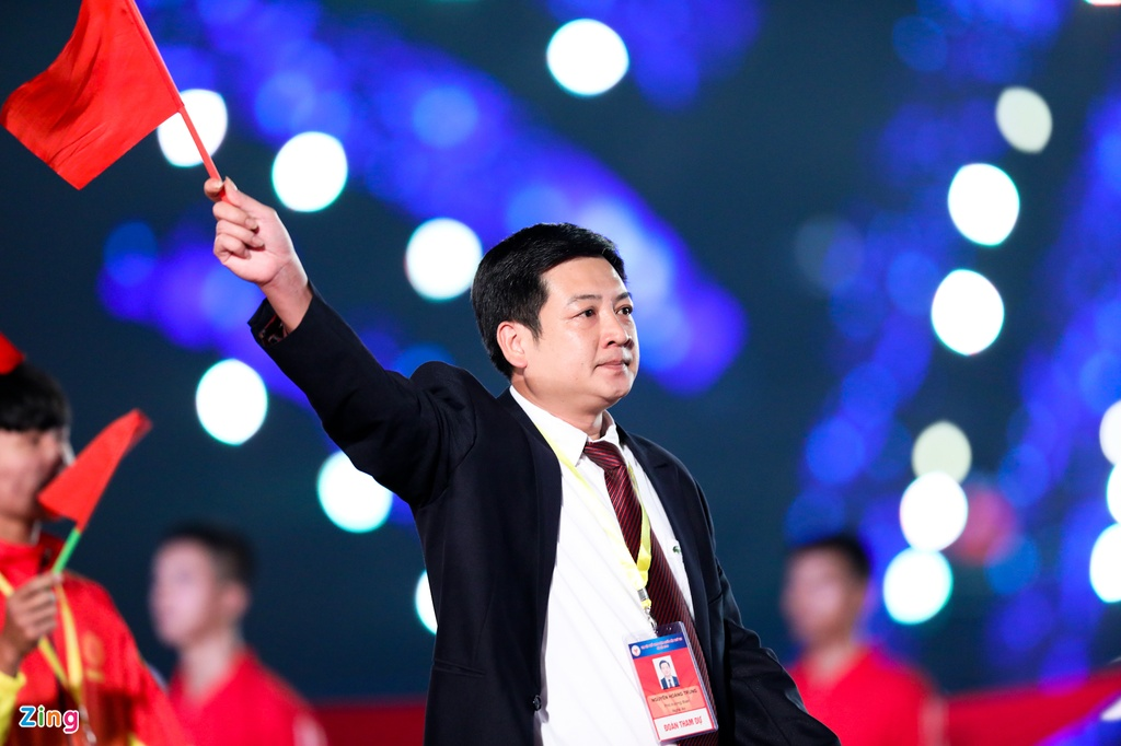 Dai hoi the thao toan quoc 2018,  ASIAD 18,  Hoang Xuan Vinh,  My Dinh anh 15