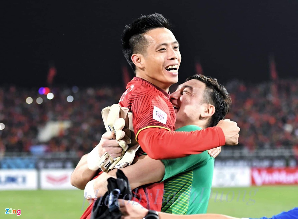 Thanh cong cua tuyen Viet nam o AFF Cup: Suc manh tu su doan ket hinh anh 1