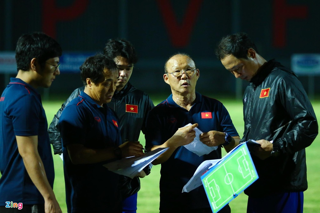 HLV Park phan ung manh khi U23 Viet Nam khong ghi ban suot 2 hiep hinh anh 12