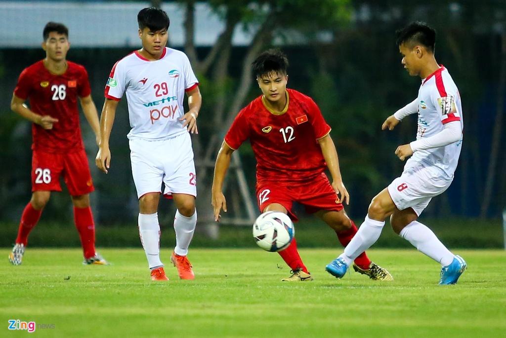 HLV Park phan ung manh khi U23 Viet Nam khong ghi ban suot 2 hiep hinh anh 2