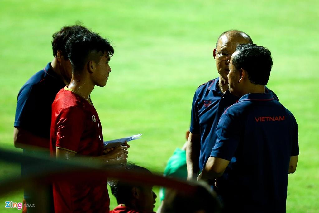 HLV Park phan ung manh khi U23 Viet Nam khong ghi ban suot 2 hiep hinh anh 6