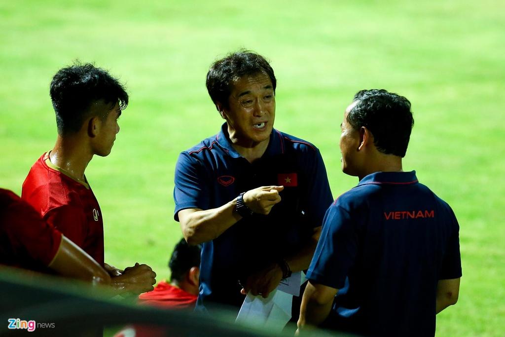 HLV Park phan ung manh khi U23 Viet Nam khong ghi ban suot 2 hiep hinh anh 7