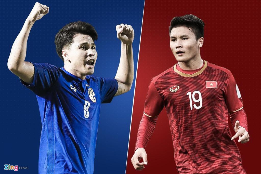 Thai Lan vs Viet Nam anh 1