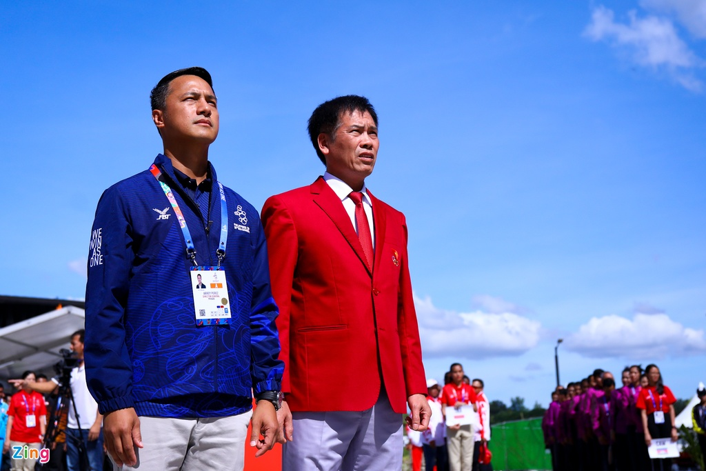 Quoc ky Viet Nam tung bay tai SEA Games 30 hinh anh 2