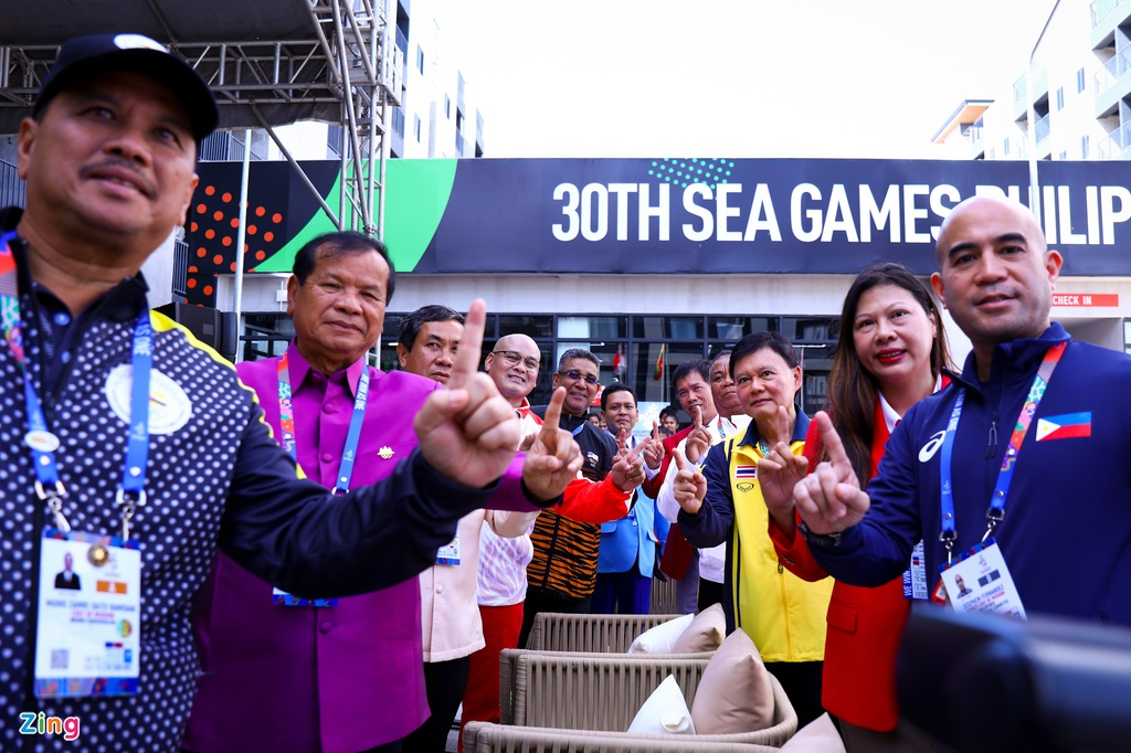 Quoc ky Viet Nam tung bay tai SEA Games 30 hinh anh 7