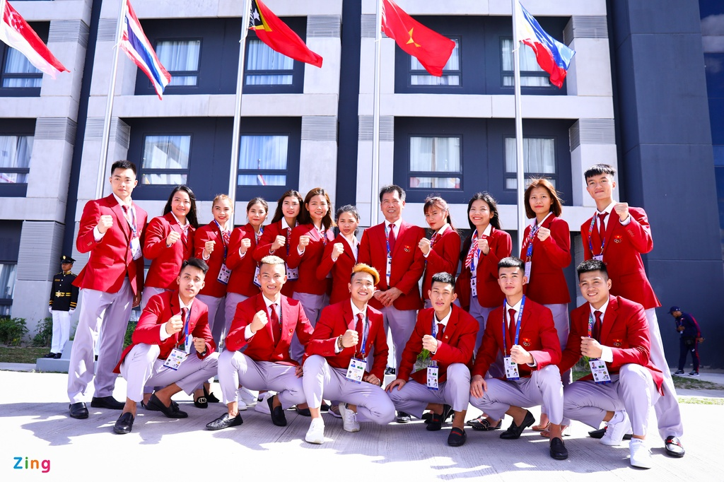 Quoc ky Viet Nam tung bay tai SEA Games 30 hinh anh 8