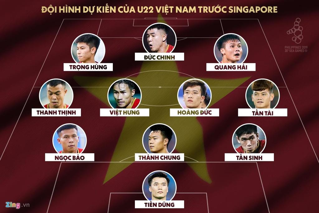 U22 Viet Nam vs U22 Singapore anh 4