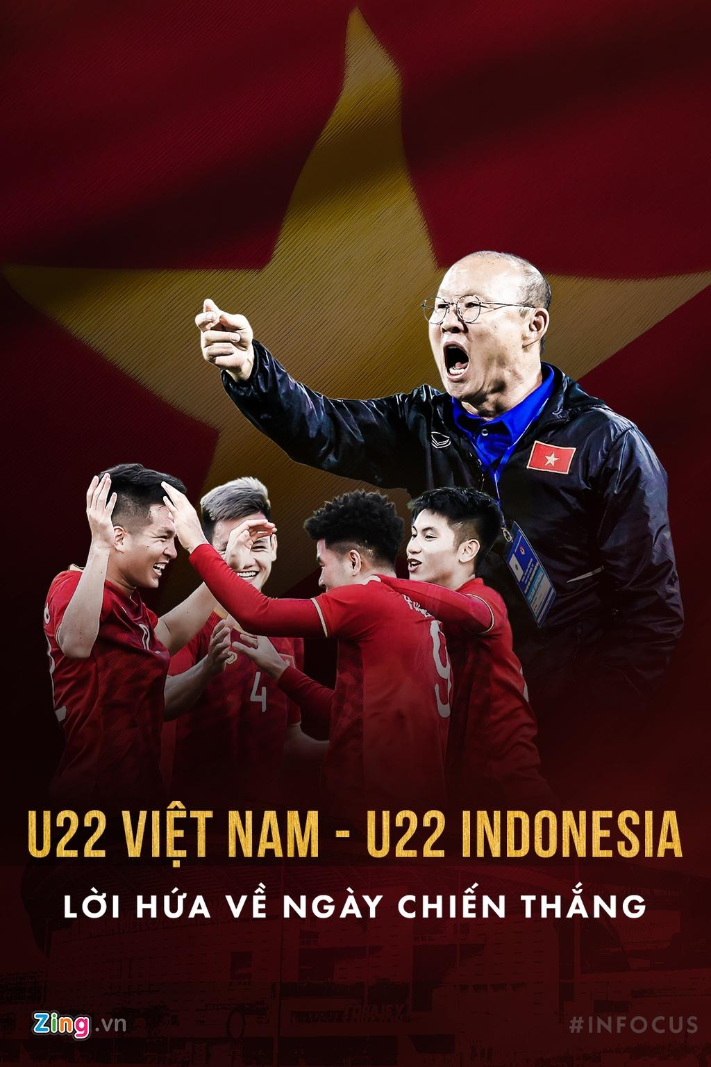 U22 Viet Nam vs Indonesia: Loi hua ve ngay chien thang hinh anh 1