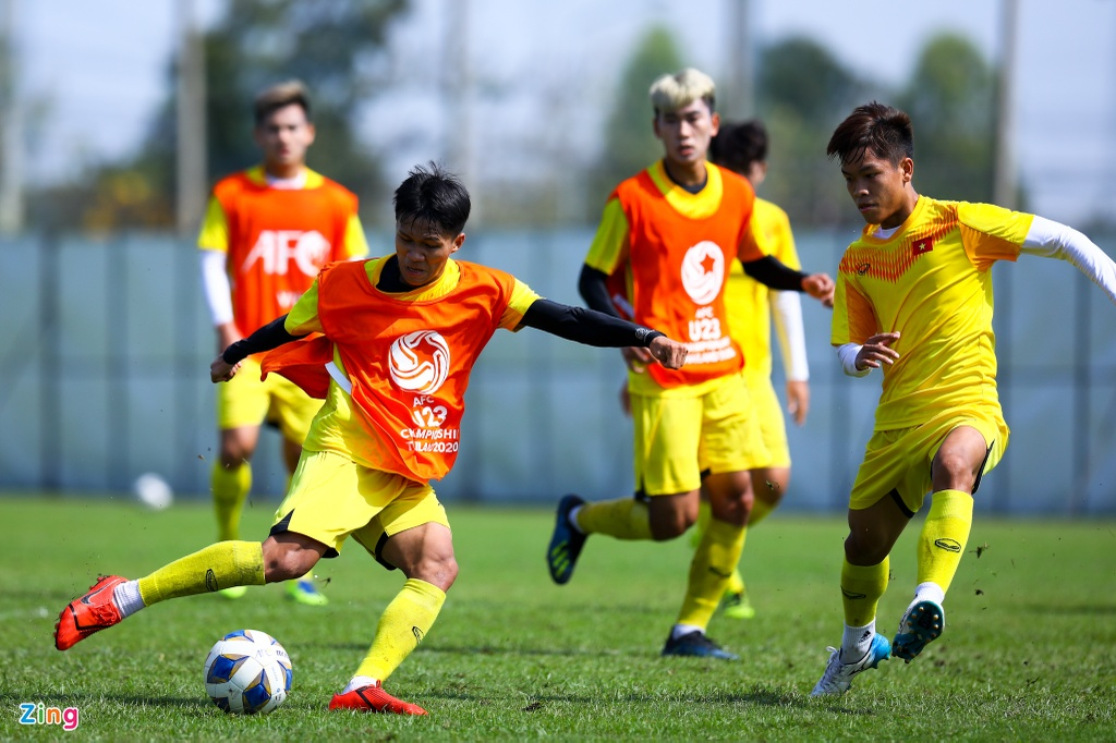 U23 Viet Nam Lee Young-jin anh 1