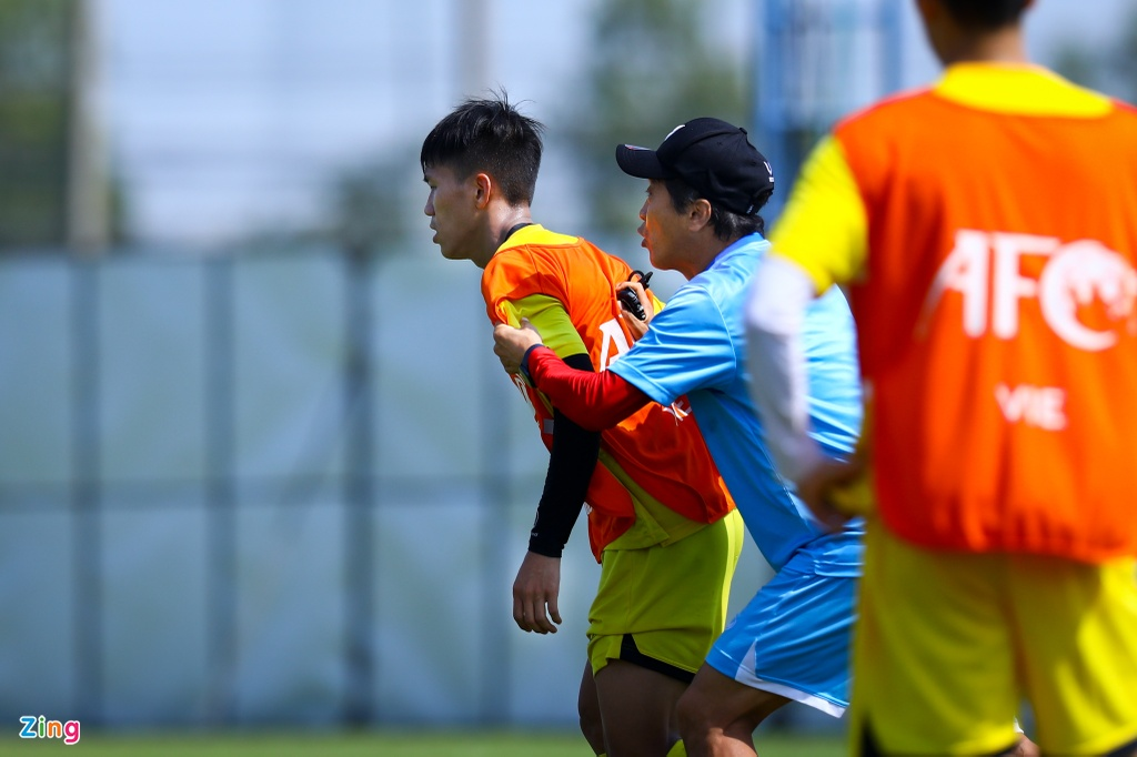 U23 Viet Nam Lee Young-jin anh 4