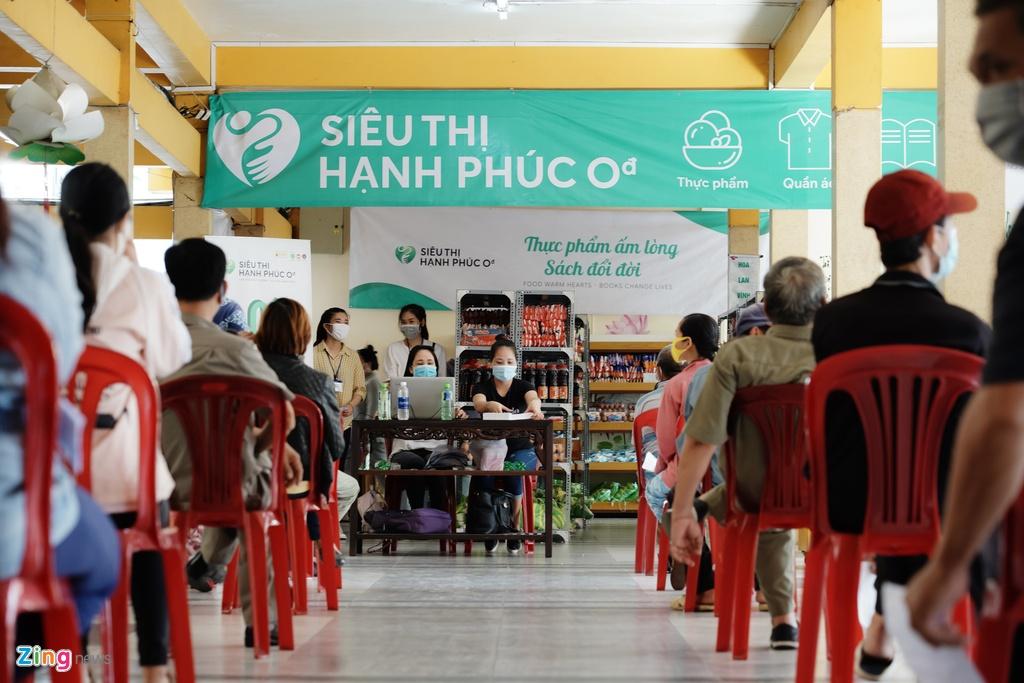 Chuỗi siêu thị Hạnh phúc 0 đồng đã chính thức có mặt ở TP.HCM,