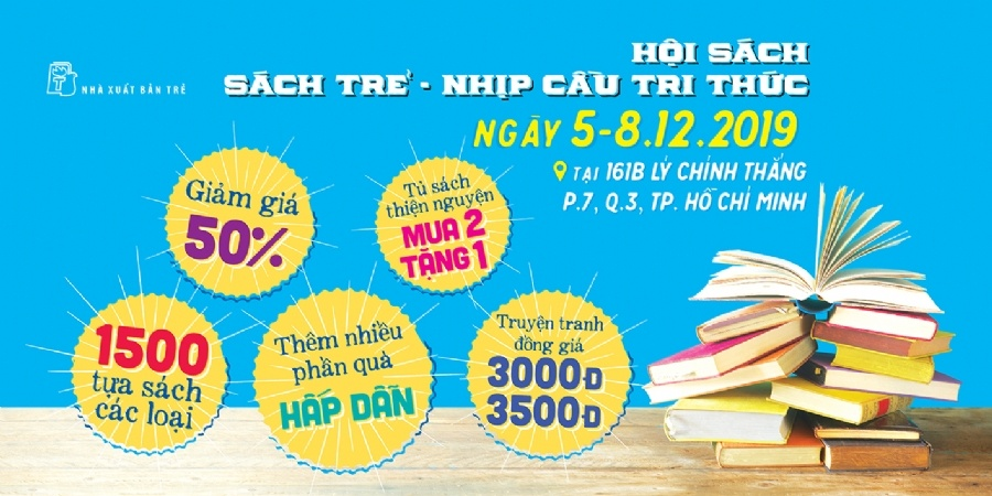 Hoi sach cu dong hanh cung thien nguyen hinh anh 1 nxbtre_full_04222019_032210.png