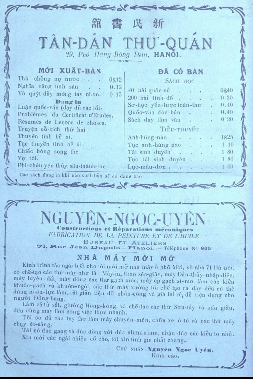 Nam 1926,  Tan Da khai sinh 'chiec thuyen nan' An Nam tap chi anh 3