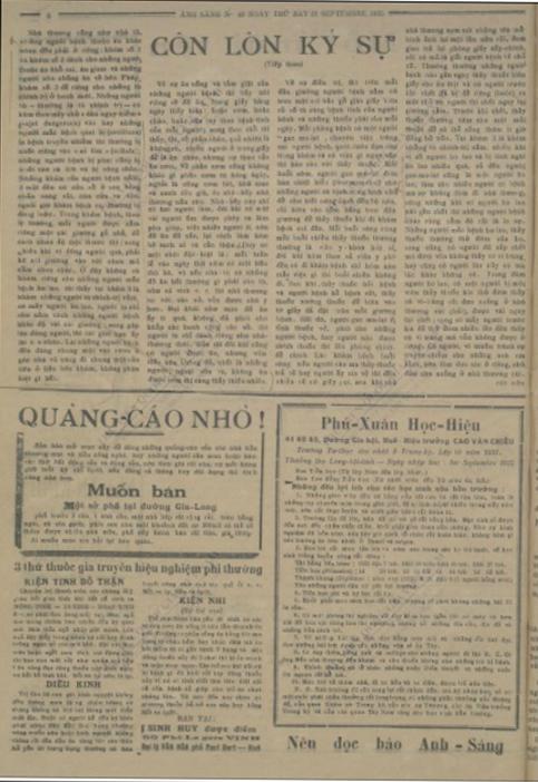 Bao Doi moi nam 1935 anh 1