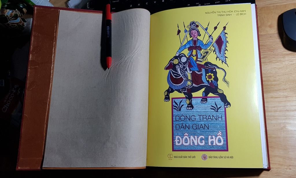 tranh dan gian Dong Ho anh 1