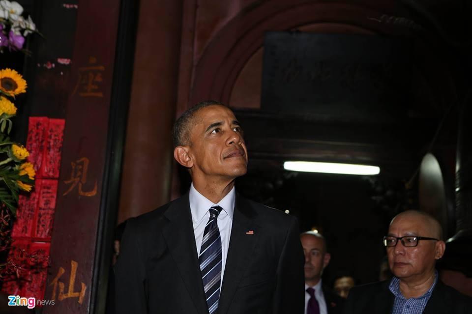 Ngay dau ban ron cua Tong thong Obama o Sai Gon hinh anh 7