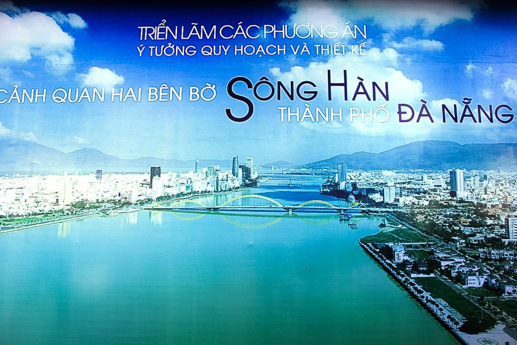 Vien canh 'thanh pho trong mo' ben bo song Han hinh anh 1